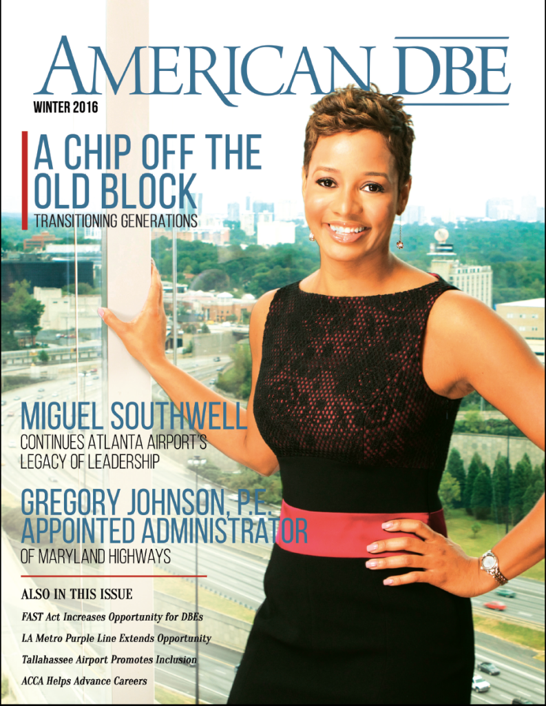 Check Out the Winter 2016 Issue of American DBE